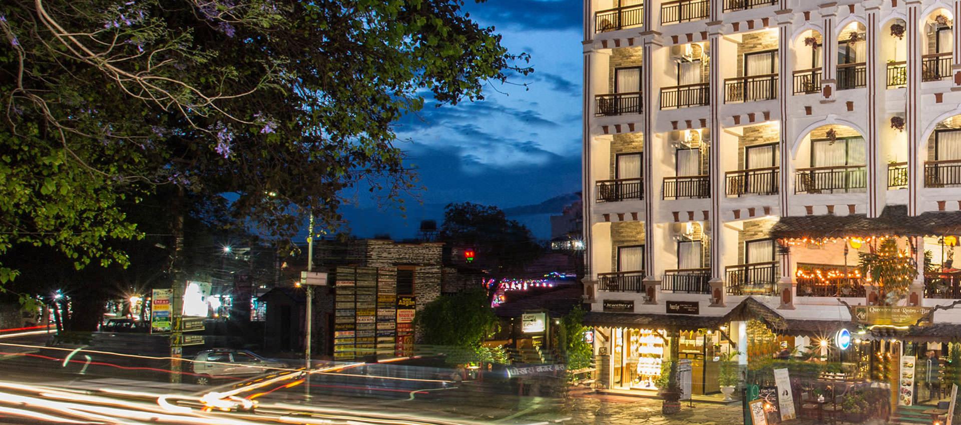 होटल रानीबन आर्केड पोखरामा नयाँ बर्ष २०७६ को उपलक्ष्यमा पर्यटकहरुलाइ बिसेष छुट