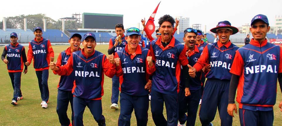 यु-१९ क्रिकेटमा ओमानमाथि नेपालको फराकिलो जित