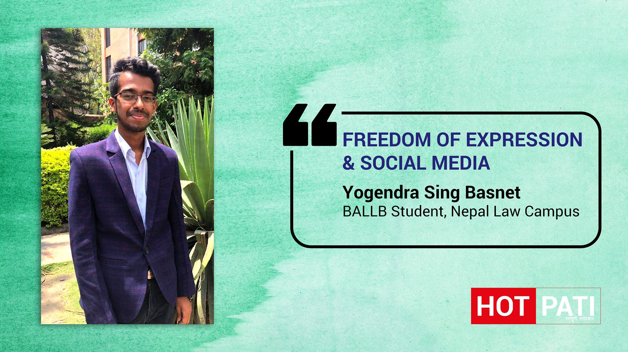 Freedom of expression and Social Media