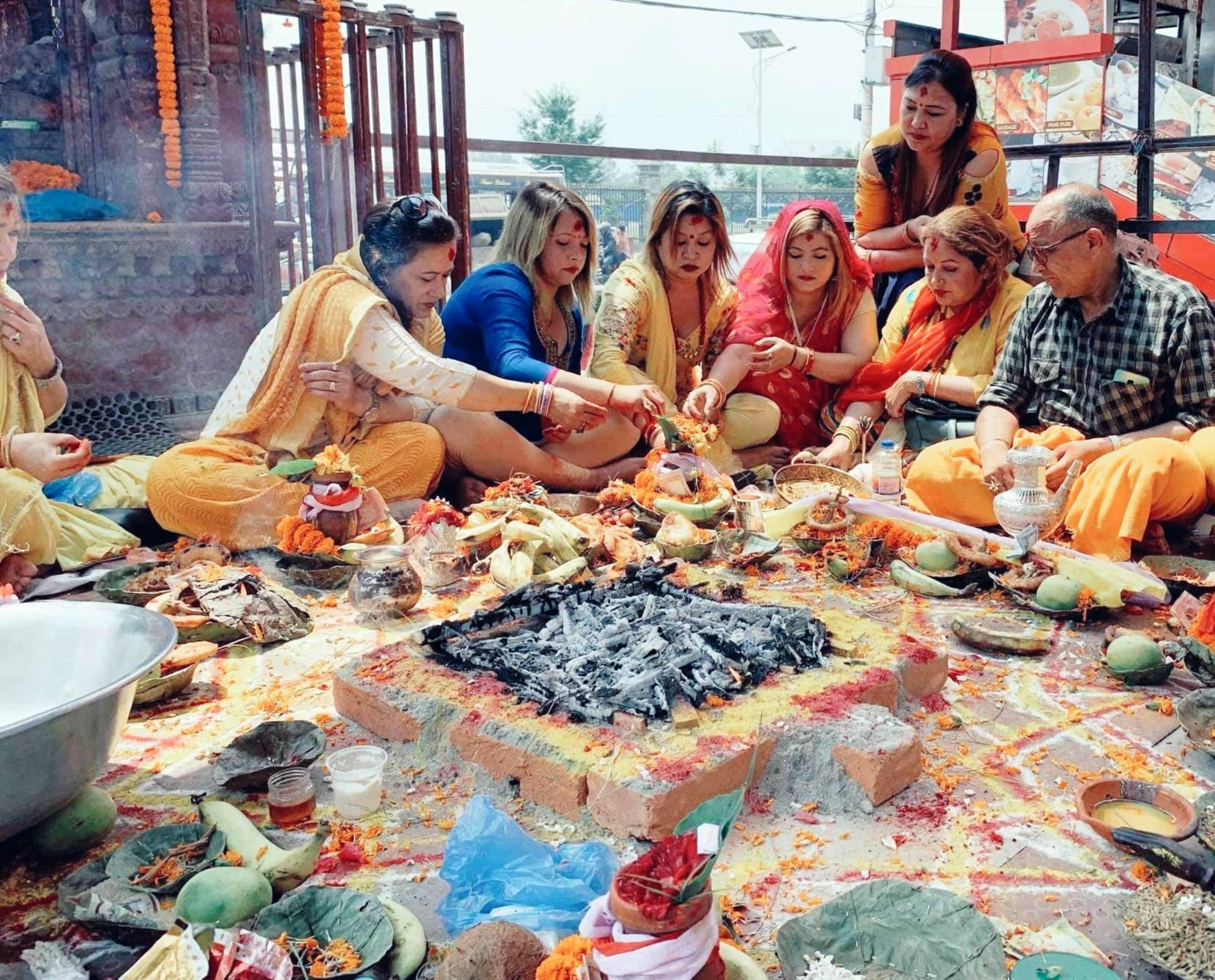 काठमाडौं मलमा तिरुपती बालाजीको पूजाअर्चना