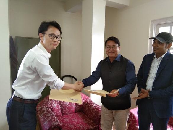 कोरियन कम्पनिसंग दुई नेपाली कम्पनीले गरे सम्झौता