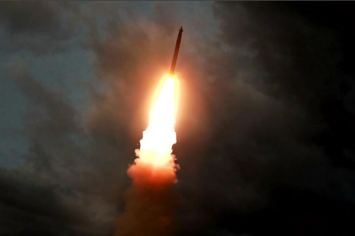 उत्तर कोरियाले गर्यो एक सातामा तेस्रो क्षेप्यास्त्र परीक्षण