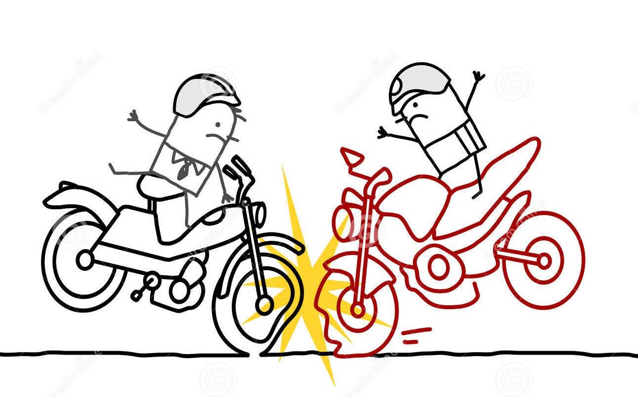 मोटरसाइकल र स्कुटी ठोक्किंदा १को मृत्यु, १ घाइते