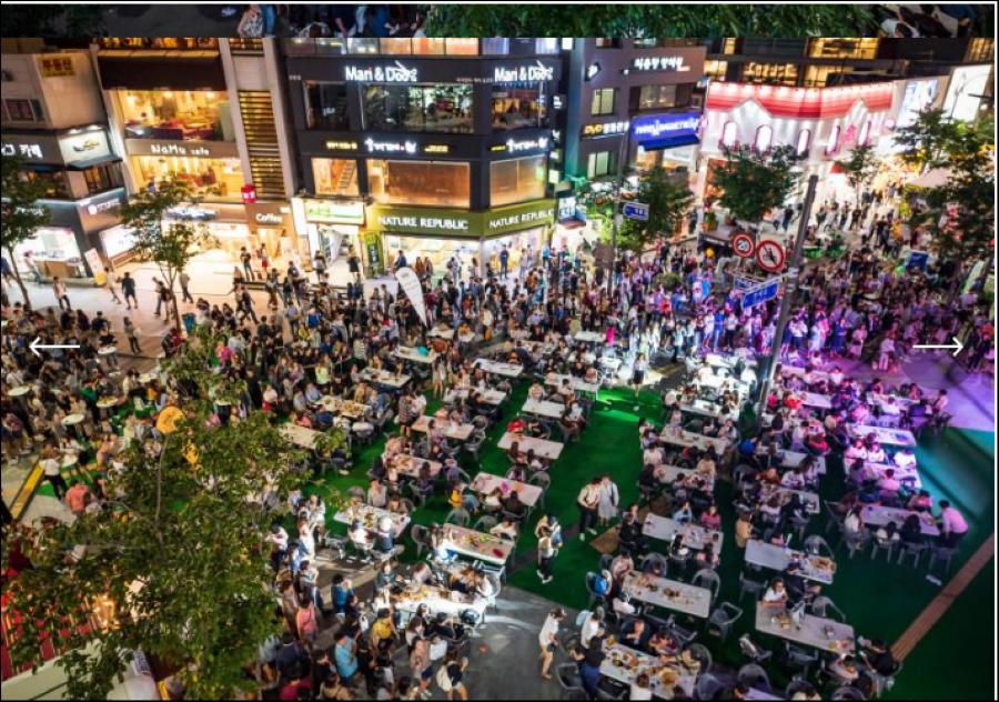 कोरियामा वियर फेस्टिभल लोकप्रिय हुदै