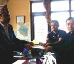 प्रधानमन्त्रीलाई समाजवादी युवा संघ कास्कीको ज्ञापन पत्र