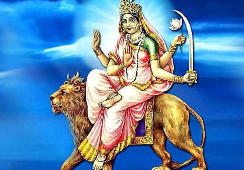 नवरात्रको छैटौँ दिन,देवी कात्यायिनी भगावतीको पूजा गरिँदै