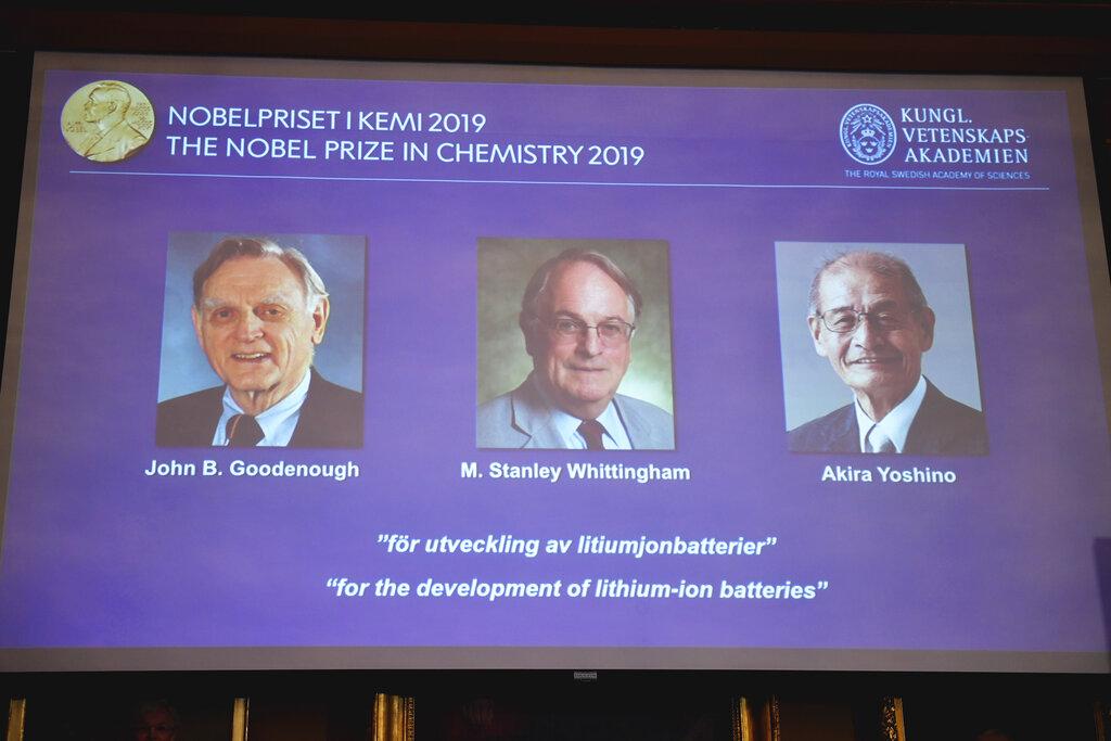 रसायनशास्त्र तर्फको नोबेल पुरस्कार तीन जनालाई दिइने