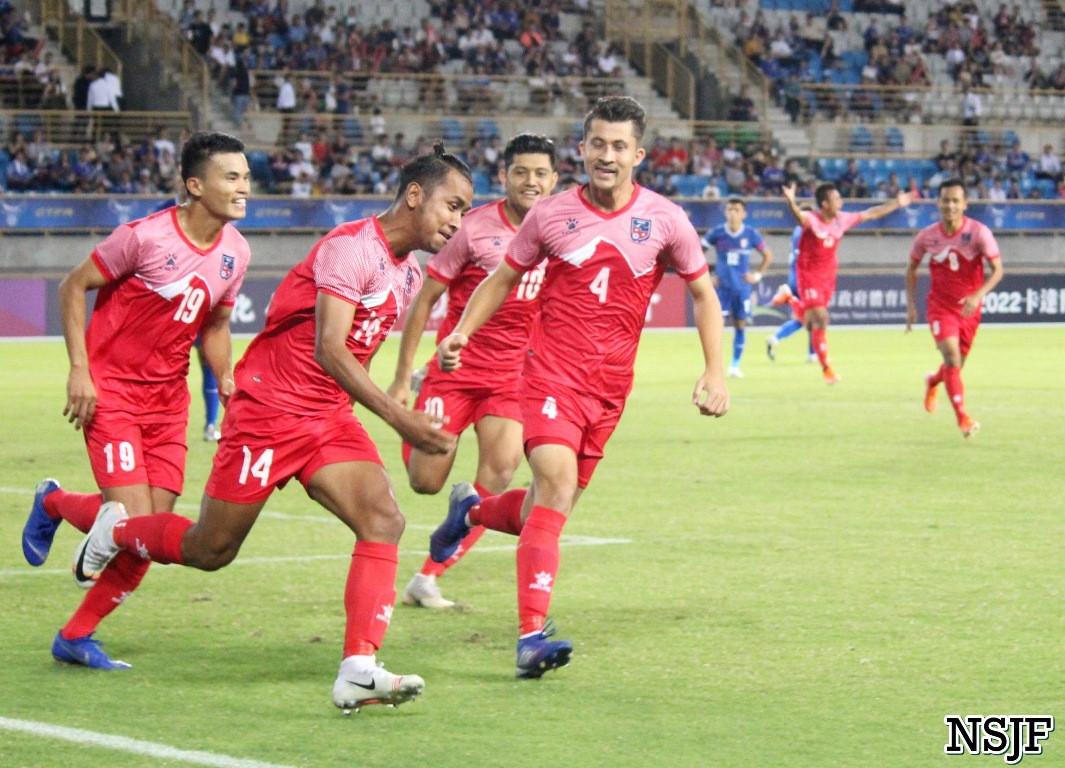 नेपाल म्यानमारसँग ३–० गोल अन्तरले पराजित