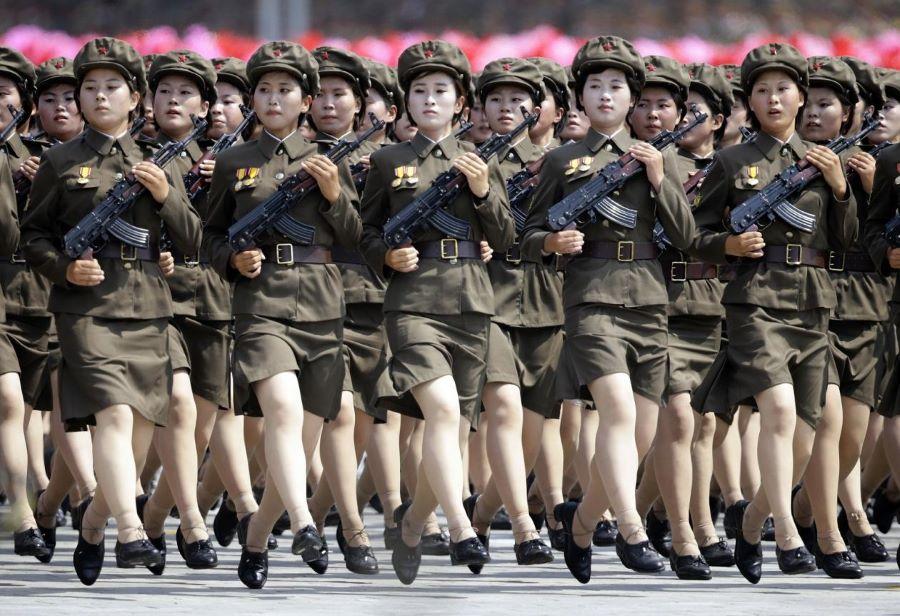 उत्तर कोरियाले सैन्य बल अझै शक्तिशाली बनाउने