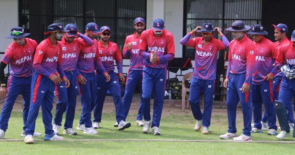 सागका लागि नेपाली राष्ट्रिय पुरुष क्रिकेट टिममा बसन्त र भेषवाकर परेनन्