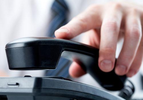 अवरुद्ध टेलिफोन सेवा सञ्चालन