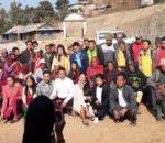 अन्तराष्ट्रिय हरियाली मंच धनकुटा शाखा द्वारा २१ घरका बिपन्न परिवारहरुलाई राहत वितरण