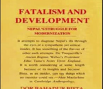 डोरबहादुर विष्टको 'भाग्यवाद र विकास' नेपाली भाषामा