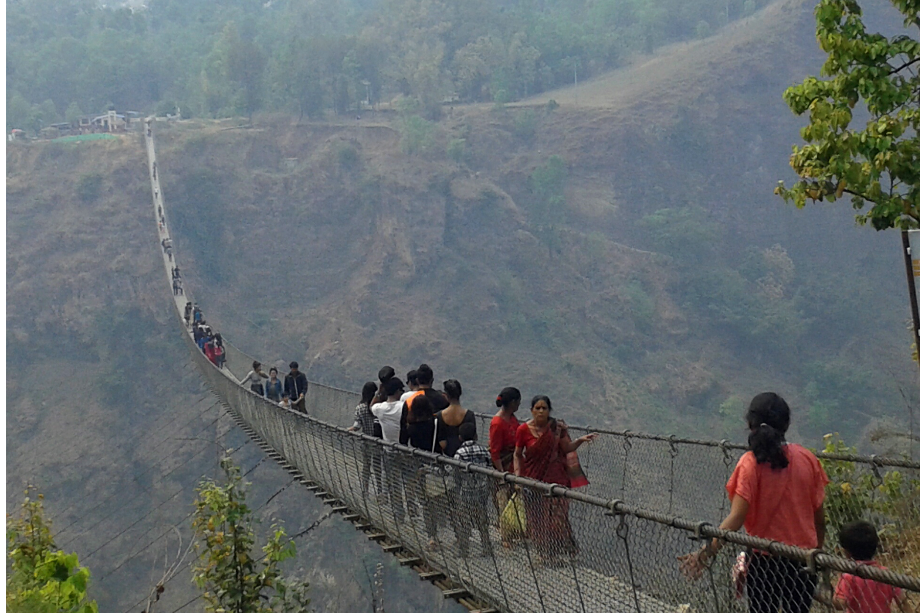 highest and longest bridge in Nepal