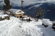 पाँचौँपटक हिमपात