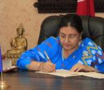 गणतन्त्र दिवसमा राष्ट्रपति भण्डारीको शुभकामनाः ज्ञातअज्ञात शहीदप्रति श्रद्धाञ्जलि अर्पण