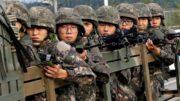 कोरियामा तेश्रो लिङ्गि सैनिकको जागिर चट
