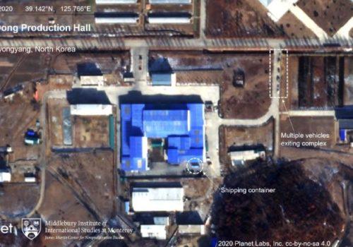 सेटलाइटमा देखियो उत्तर कोरियाको आणविक कार्यक्रम