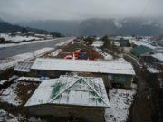 हुम्लामा हिमपात, हवाई उडान अवरुद्ध