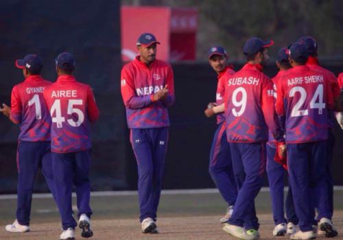 आईसीसी विश्वकप क्रिकेट लिग-२ : नेपालको कीर्तिमानी जित, अमेरिकाको लज्जास्पद हार
