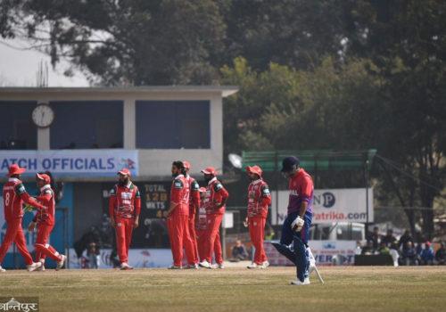 आईसीसी पुरुष विश्वकप क्रिकेट लिग-२ : नेपाल फेरि ओमानसँग ८ विकेटले पराजित