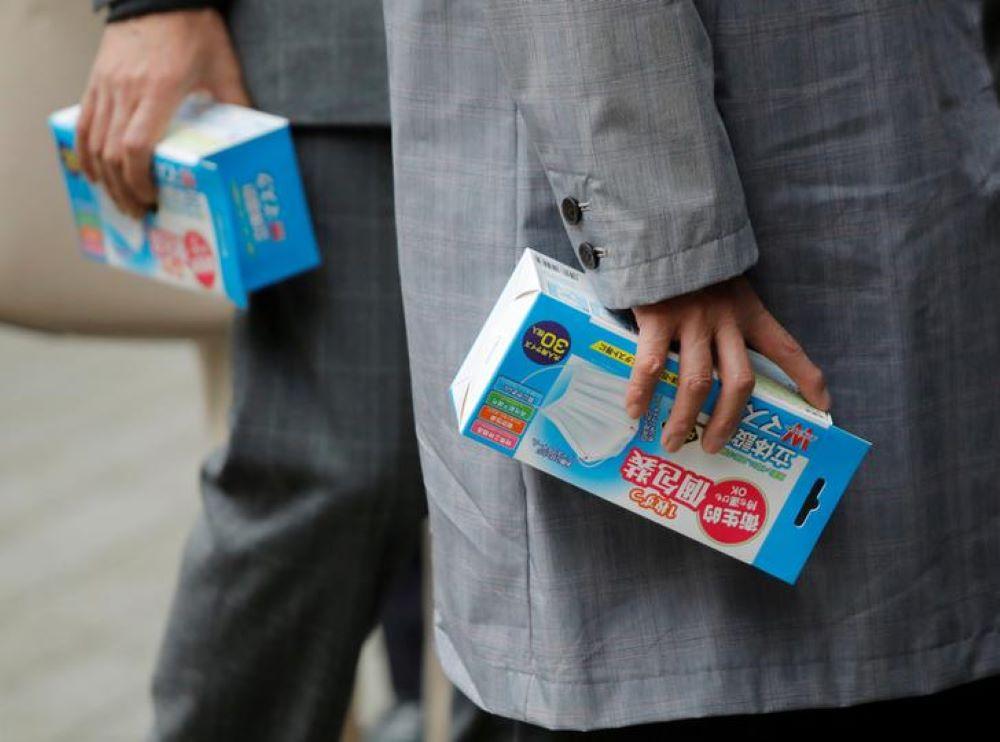 कोरोना दुख -जापानमा मास्कको हाहाकार भए पछि सेनेटरी प्याड र ब्रा