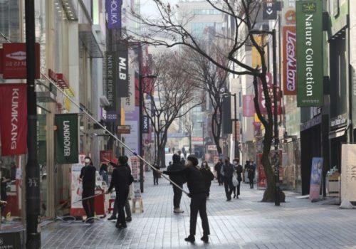 कोरोना महामारी – कोरियामा सामाजिक दुरी कायम अभियान अप्रिल १९ सम्म