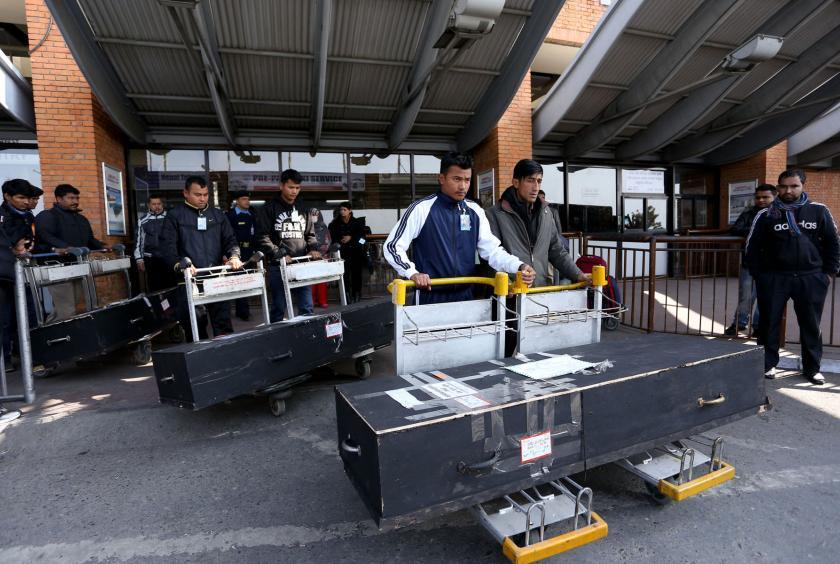 दक्षिण कोरियामा एघार बर्षमा १ सय २३ नेपालीको मृत्यु
