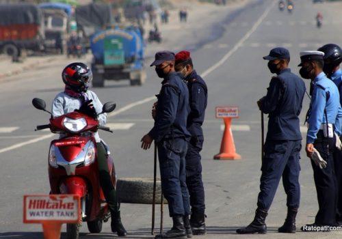 नेपाल प्रहरी भोकले निम्त्याउने अपराध नियन्त्रणमा सफल
