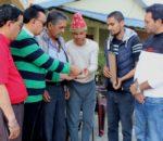 नेपाल चलचित्र कलाकार संघद्धारा स्वर्गीय महिमाको परिवारलाई आर्थिक सहयोग