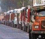 भारतबाट खाद्य र ग्यास बोकेका दुई सय गाडी भित्रिए