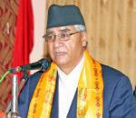 नेपाली कांग्रेसले मात्र देशलाई निकास दिन सक्छ: सभापति देउवा