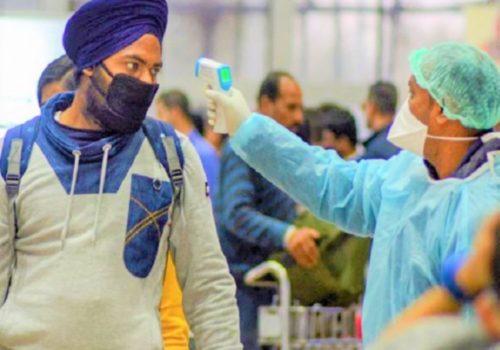 भारतमा दैनिक संक्रमितको संख्या घट्यो