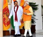 भारतीय प्रधानमन्त्री मोदी र श्रीलंकाली प्रधानमन्त्री राजपाक्छे फोनवार्ता