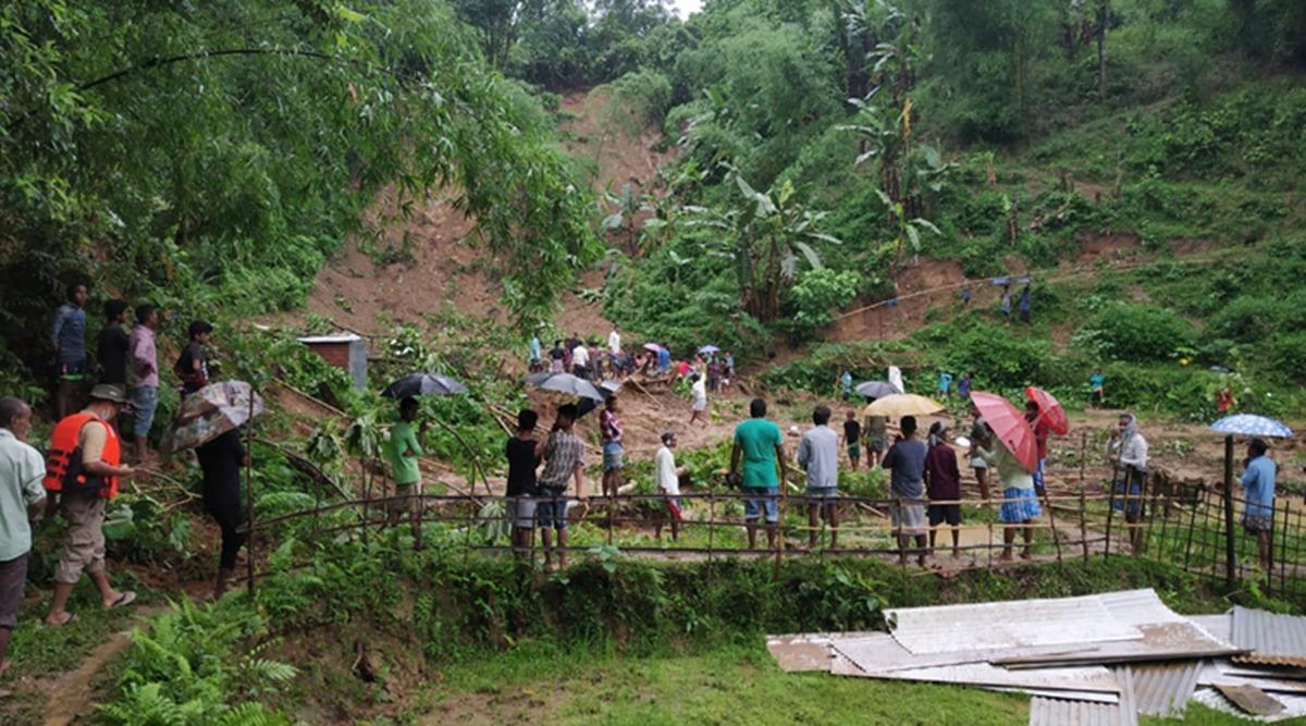 भारतको आसाम राज्यमा पहिरोमा परी २० व्यक्तिको मृत्यु