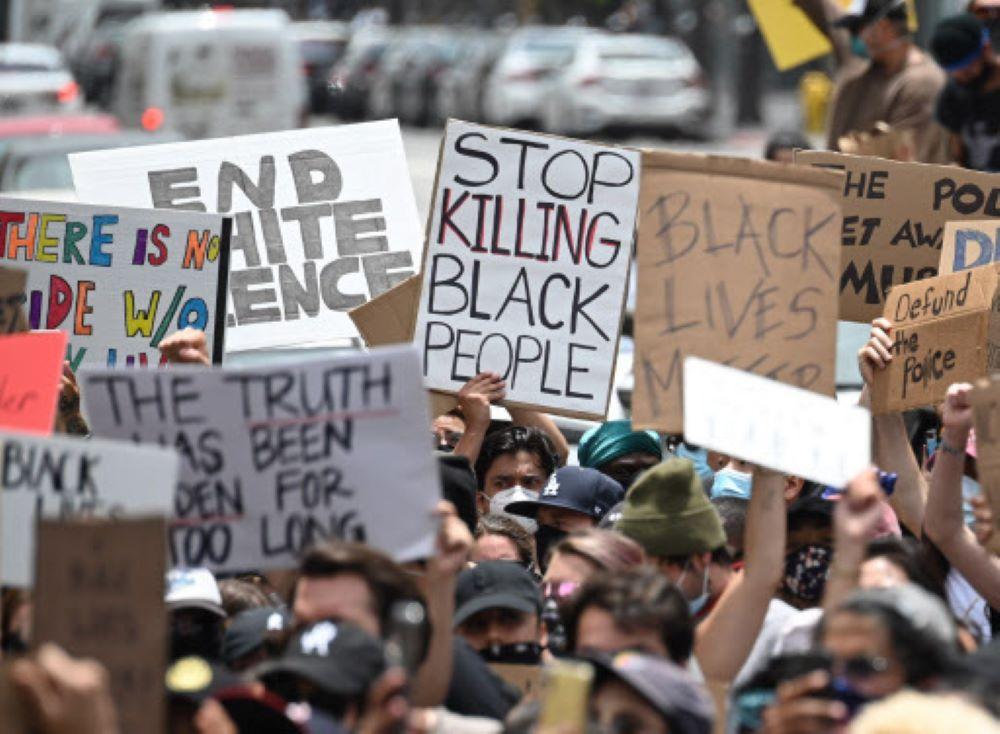 जॉर्ज फ्लोयड हत्या विरुद्ध ऐक्यवद्धता जनाउन कोरियामा प्रदर्शन हुने