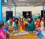 अनाथ बालबालिकासँग निर्मात्री सावित्रा चिलुवालले मनाइन जन्मदिन