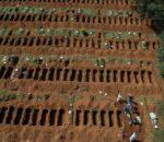 ब्राजिलमा एक लाखको मृत्यु, विश्वभर एक करोड ९८ लाख संक्रमित