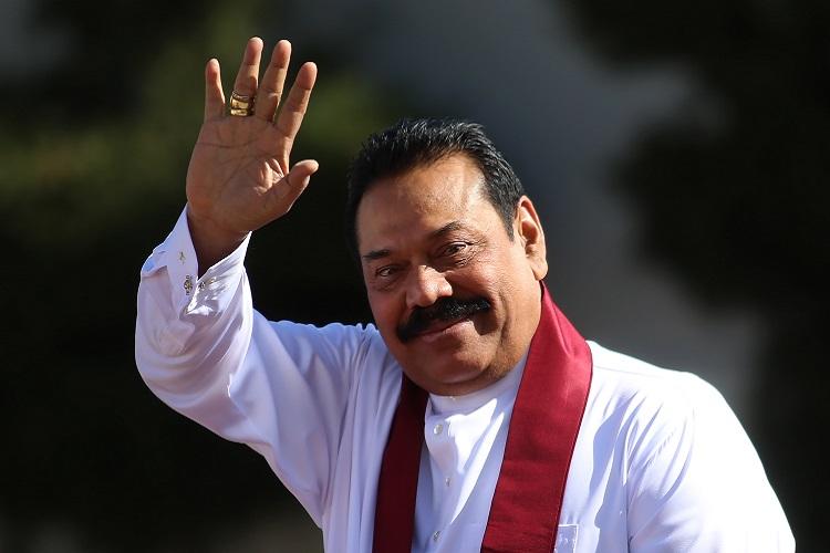 महिन्दा राजापाक्षे श्रीलंकामा चौथोपटक प्रधानमन्त्री