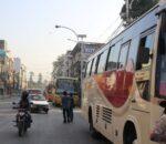 सार्वजनिक यातायात, 'न स्यानिटाइजर न दूरी, भाडा मात्र बढी'