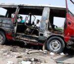 पाकिस्तानको सिन्धमा सडक दुर्घटना, १३ जनाको मृत्यु