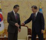 चीनद्वारा दक्षिण कोरियालाई अमेरिकाको पक्ष नलिन चेतावनी