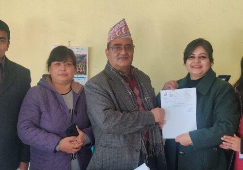 ग्लोबल आइएमई बैंक लि. र त्रिभुवन विश्वविद्यालय, परीक्षा नियन्त्रण कार्यालयबीच सम्झौता