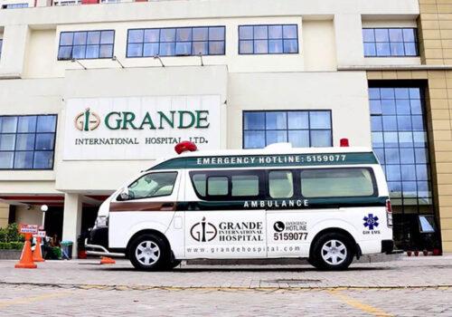 ग्रान्डी अस्पतालमा अक्सिजन अभाव, नयाँ बिरामी भर्ना नलिने