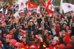 नेकपाको विरोध जुलुस शुरु
