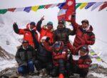 'केटू' आरोहणका गर्ने कीर्तिमानी आरोहीलाई काठमाडौँमा भव्य स्वागत
