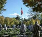 कोरियाली युद्ध स्मारक अमेरिकाको वासिङटनमा निर्माण हुदै