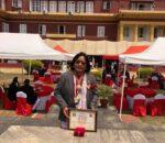 रामप्रसाद राई स्मृति प्रतिष्ठानका अध्यक्ष र बरिष्ठ उपाध्यक्ष सम्मानित