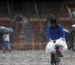 आजको मौसम: काठमाण्डाै उपत्यकालगायत धेरै ठाउँमा मेघ गर्जनसहित वर्षा