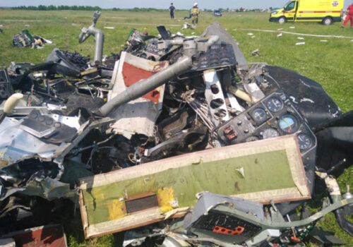 रुसमा विमान दुर्घटना हुँदा ९ जनाको मृत्यु